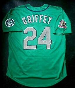 Ken Griffey Jr Jersey Seattle Mariners 1995 Throwback Stitched NEW With Tags $79.99
