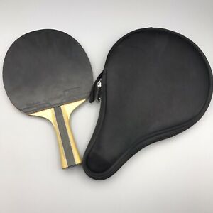 Pong Ping Butterfly Table Tennis Racket Paddle Blade New Bat Vintage Case Fl St $40.00