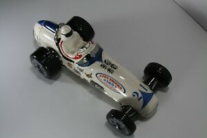 Ezra Brooks Collectible Decanter Race Car Empty 155 month old label