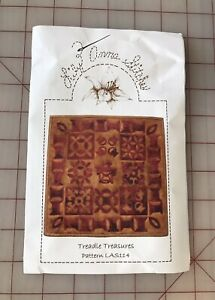 """""""Treadle Treasures"""" by Lily Anna Stitches Wool Kit and Pattern $12.99"""