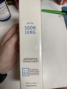 Etude House: Soon Jung pH5.5 Relief Toner 11.83fl oz $15.00