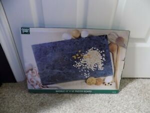 Creative Home Green Marble Pastry Board 12 x 18