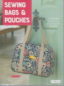 Sewing Bags amp; Pouches 35 Bags amp; Pouches with Full Size Patterns 2018 $19.95