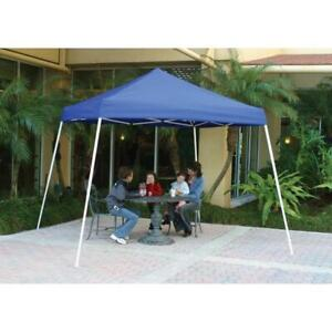 Easy Up 10 X 10 Instant Camping Canopy Outdoor Sporting Goods Tents Awnings Yard
