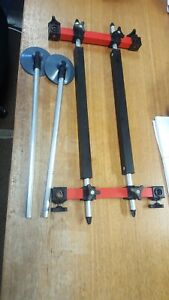 octoplus footplate and legs used fishing box accessory