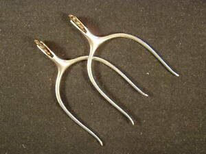 RARE OLD VINTAGE ROY ROBINSON SLIP ON SPURS WITH BRASS ROWELS