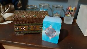 Mini Tarot Cards By Nakisha Rat Themed Divination Deck In Little Wooden Box $25.00