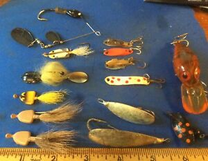 Lot Of Vintage Fishing Lures 14