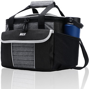 Mier Large Soft Cooler Bag Insulated Lunch Box Bag Picnic Cooler Tote With Dispe