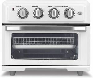 Cuisinart TOA 60WFR Airfryer Convection Toaster Oven White Certified Refurbished