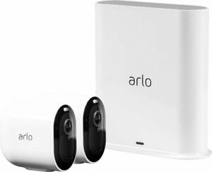 Arlo VMS4240P 100NAR Pro3 2K HDR Wire Free Security System Certified Refurbished $249.89