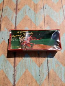 EPPINGER DARDEVLE SMOOTH COPPER FISHING SPOON amp; TREBLE HOOK IN WHISKERS IN BOX