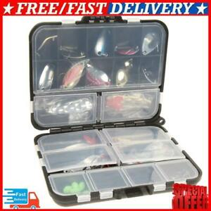 37pcs Metal Spoon Fishing Lure Kits Spinning with Box Tackle @