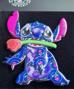 NWT Disney Stitch Crashes Beauty And The Beast Pin Limited Edition Rare $74.99