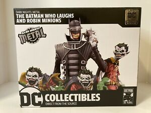 Dark Nights: Metal The Batman Who Laughs amp; Robin Minions Deluxe Limited Edition $300.00