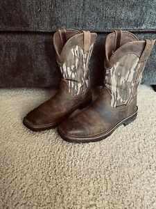 Justin Work Boots 10.5 D Great Condition