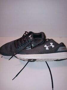 Under Armour Shoes Size 7y Gray White $22.00