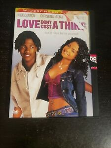 Love Don#x27;t Cost a Thing Widescreen Edition DVD BUY 2 GET 1 FREE $3.80
