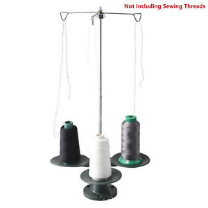 3 Spool Stand Thread Holder Embroidery Organizer for Industrial Sewing Machine $14.79