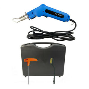 RC80B12 Protable 80W Hot cutting Fabric Cutter For Fabric Leather Cloth Plastic