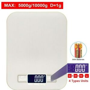 Electronic Digital Kitchen Food Cooking Weight Balance Scale g oz ml lb#x27;oz $9.97