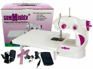 Portable Sewing Machines For Travel Quick Repairs amp; Small Projects Dual Speed $31.12