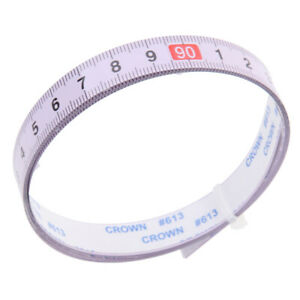 1M Self Adhesive Tape Measure sewing tables machines amp;workshops R to L $7.88