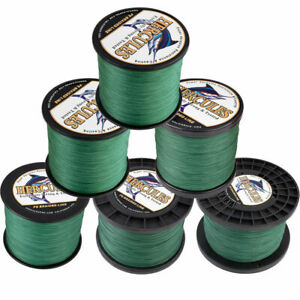 Hercules 1094Yds 10 300lb Green 8 Strands Weave Tackle PE Braided Fishing Line