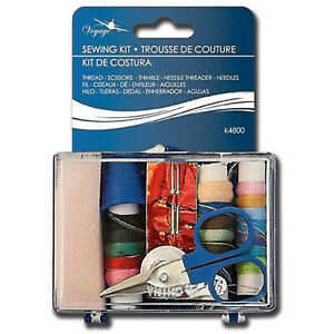 Portable Mini Sewing Kits for Adults Kids Traveler Beginner Emergency 10pc $9.99