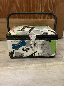 Vintage Singer Sewing Basket with Supplies Included $36.92
