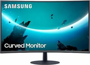 Samsung LC32T550FDNXZA RB 32quot; T55 Curved Monitor Refurbished $229.99