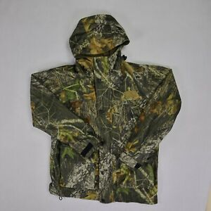 Game Winner womens hunting jacket small camouflaged double zip front tactical