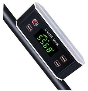 Electronic Inclinometer Digital Protractor Level Angle Finder and Gauge Tools $44.80