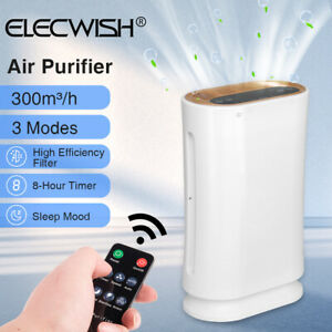 4 in 1 Air Purifier HEPA Filter For Large Room Dust Allergies Smoke Disinfection $29.99