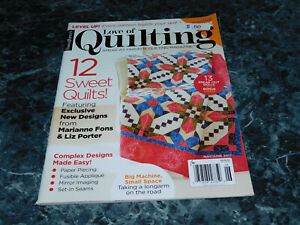 Fons amp; Porter#x27;s For the Love of Quilting Magazine May June 2017 Hibiscus $2.99