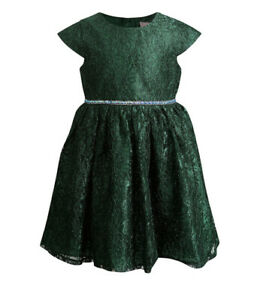 Youngland Toddler Green Dress Sleeveless Wedding Party 4T NWT $56 $29.99