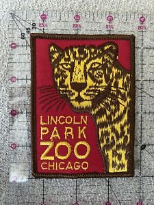 Lincoln Park Zoo Chicago Vintage Cheetah Patch