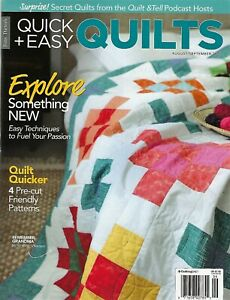 BRAND NEW quot;FONS amp; PORTER#x27;S QUICK EASY QUILTS AUG SEPT 2021 11 QUILTS TO MAKE $4.95