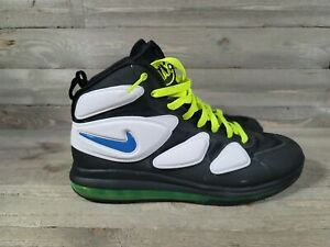 Nike Air Max 2 360 Uptempo Zoom Hi Top 630924 400 Used Sneakers SZ 11 Nice Used