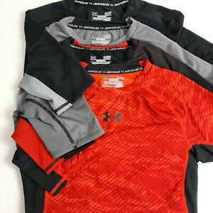 Under Armour Mens Size S Lot of 4 Short Sleeve Compression Performance Tee Shirt $29.99