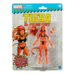 Marvel Legends 6quot; West Coast Avengers Tigra Vintage Card New Ready to Ship $35.50