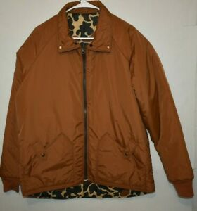 Vintage Hunting Thinsulate 3M 10X Reversible Jacket. Size L Tall