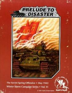 Clash of Arms Wargame Winter Storm Campaign #6 Prelude to Disaster VG
