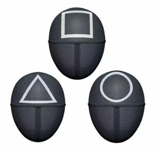 Squid Game Cosplay Mask Square Circle Triangle Squid Game Masks Full Face USA $29.99