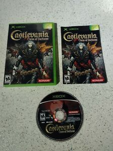 Castlevania: Curse of Darkness Microsoft Xbox 2005 Complete with Manual $35.00