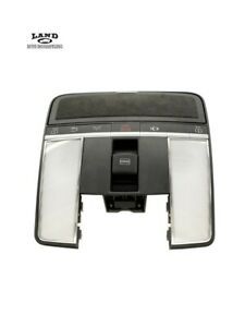 MERCEDES W216 W221 S CL FRONT MAP READING DOME OVERHEAD LIGHT BLACK SUEDE AMG $189.99