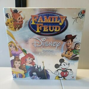 Family Fued Disney Edition Board Game Sealed Brand New 2016 Cardinal Pixar $24.95