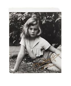 Olivia Newton John signed Childhood pic from Julien's 2020 Online Auction Lot 1 $900.00