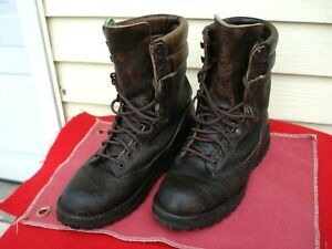 Danner Full Leather Gore Tex Hunting Boots 9 D 68110 258436