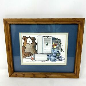 quot;Bugsquot; Lithograph Print by Robert Marble signed by artist $24.99